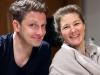 Holger Stockhaus und Cordelia Wege - keinerlei Spannungen...  (Foto: Olaf Parusel/MDR)