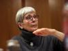 Kornelia Boje probt die Problemlagen der Ex-Schwiegermutter Gisela... (Foto: Olaf Parusel/MDR)