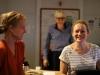 """Carina Wiese, Stefan Kanis und Anja Schneider bei den Wortaufnahmen zu """"Die Entgiftung des Mannes (v.l.n.r. – Foto: Olaf Parusel/MDR)"""