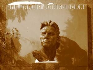 Wladimir Majakowskis Grabstein