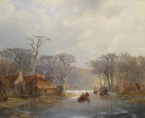 Wintervergnügen (Carl Hilgers; Quelle: Wikipedia)