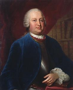 Porträt Heinrich von Brühls (Louis de Silvestre; Quelle: Wikipedia)