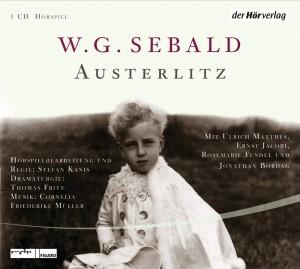 """CD-Cover """"Austerlitz"""" von W.G. Sebald"""