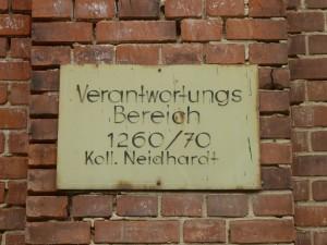 Motiv aus den Bleichert-Werken Leipzig-Gohlis