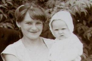 Olga Kapustina und Mama